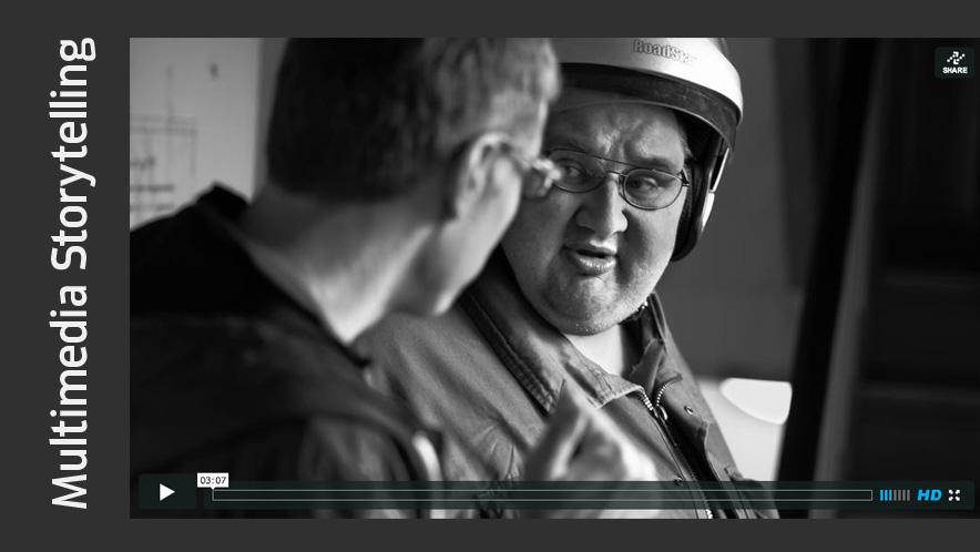 Multimedia Storytelling, Video und Audio